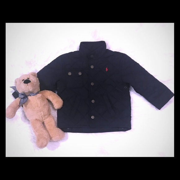 45a8cdaf71e9 Like New Ralph Lauren Baby Boy Quilted Jacket. M 5b776bde81bbc84ec28df00a